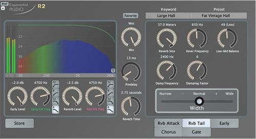 Exponential Audio R2 Stereo Reverb v3.0.2
