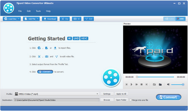 Tipard Video Converter Ultimate v9.0.30 Multilingual (Portable)