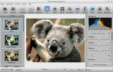 Photo Effect Studio Pro 4.1.3 + Serif Artwork Pack