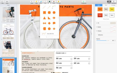 Pages v6.0.5 (Mac OSX)