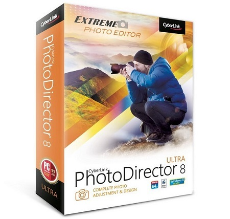 CyberLink PhotoDirector Ultra 8.0.2303.0 Multilingual
