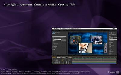 After Effects Apprentice 16: Creating a Medical Opening Title (updated Nov 11, 2016)