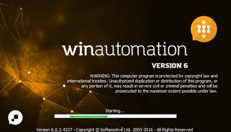 Softomotive WinAutomation.6.0.2.4227 (x86x64)