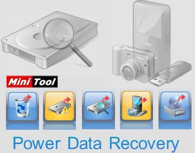 MiniTool Power Data Recovery 8.0 Setup + Crack