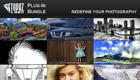 Topaz Plug-ins Bundle for Adobe Photoshop (Updated 17.11.2016) (Mac OS X)
