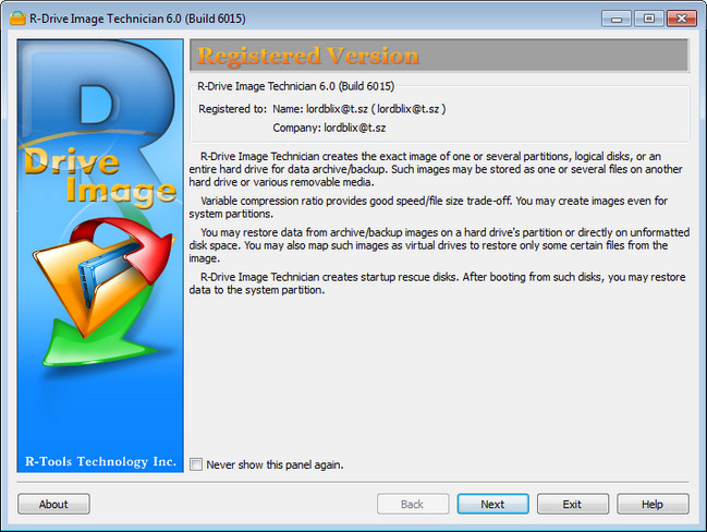 R-Tools R-Drive Image v6.1 Build 6101 Multilingual