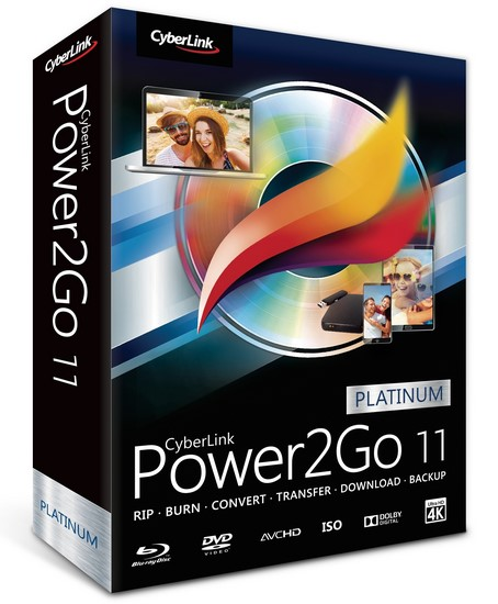 Cyberlink Power2go Platinum v11.0.1013.0 Multilingual