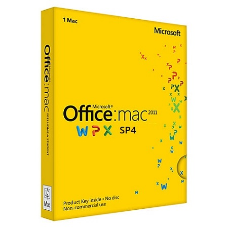 Microsoft Office 2011 Volume Licensed SP4 v14.7.0 (Mac OS X)