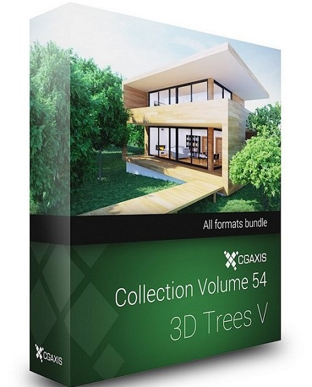 CGAxis Models Volume 54 - 3D Trees V