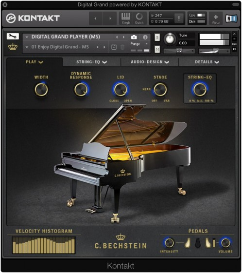 C. Bechstein Digital Grand KONTAKT-FANTASTiC
