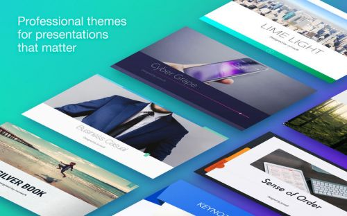 Jumsoft Themes For Keynote v5.0.6 (Mac OSX)