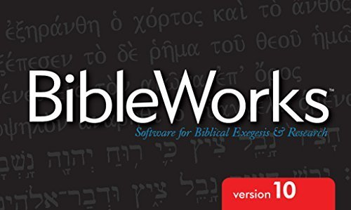 Bibleworks v10.0.0.41 Multilingual (Mac OSX)