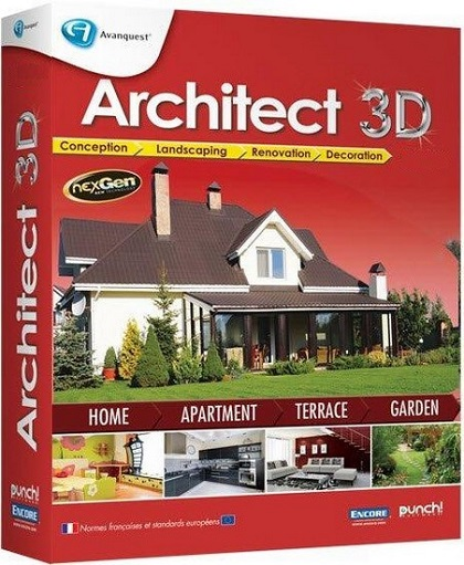 Avanquest Architect 3D Interior Design 2017 v19.0.1.1001 French
