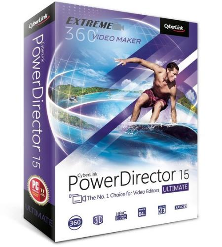 CyberLink PowerDirector Ultimate 15.0.2309.0 Multilingual