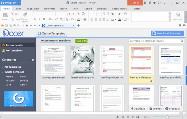 Wps Office 2016 Premium v10.2.0.5804 Multilingual (Portable)