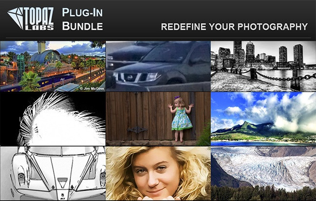 Topaz Plug-ins Bundle For Adobe Photoshop (11,2016) (Mac OSX)