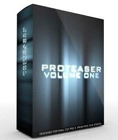 Pixel Film Studios - PROTEASER Vol. 1 Plugin for Final Cut Pro X (MacOSX)