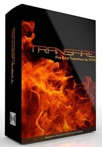 Pixel Film Studios - TransFire: Fire Burst Transitions for FCPX (MacOSX)