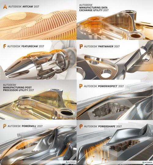 Autodesk Delcam.2017 Sp3 Suite Multilanguage