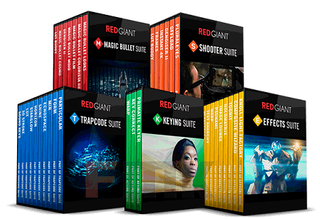 Red Giant Complete Suite 2016 for Adobe CS5 - CC 2017 Dec 2016