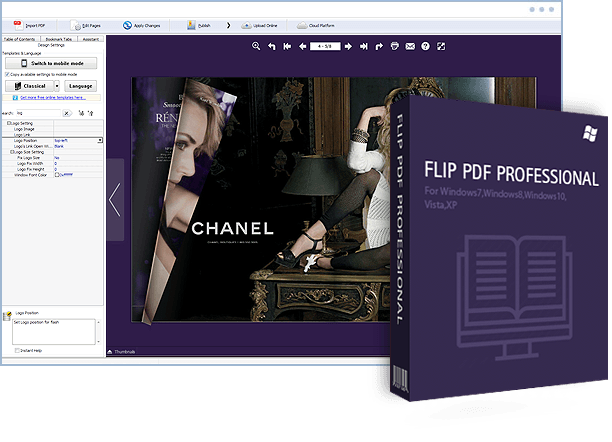 Flipbuilder Flip Pdf Professional v2.4.6.7 Multilingual (Portable)
