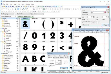 High-Logic FontCreator Professional Edition 10.1.0.2257