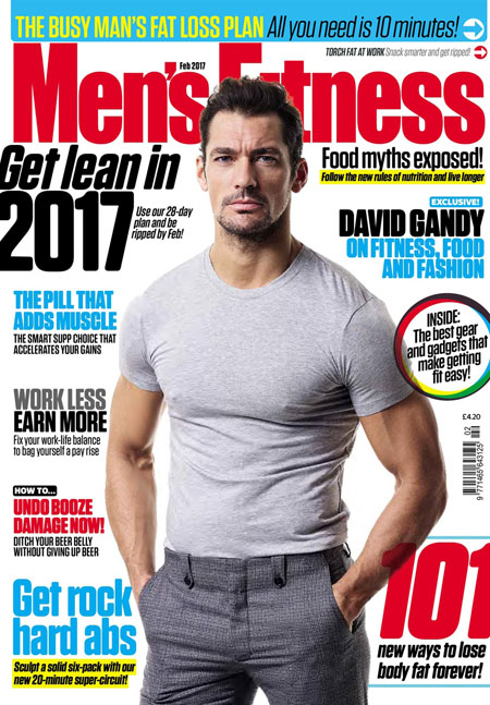 Men's Fitness UK - February 2017