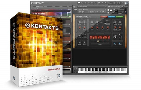 Native Instruments Kontakt 5 v5.6.5 (Mac OS X)