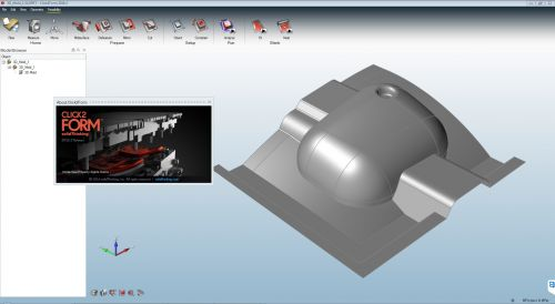 Solidthinking Click2form 2017.153
