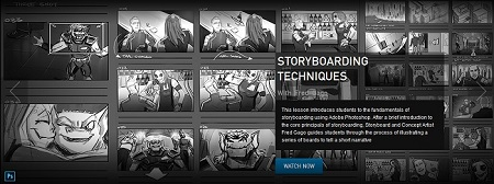 The Gnomon Workshop : Storyboarding Techniques with Fred Gago
