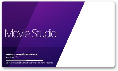 MAGIX Movie Studio 13.0 Build 208 Multilingual (x64)