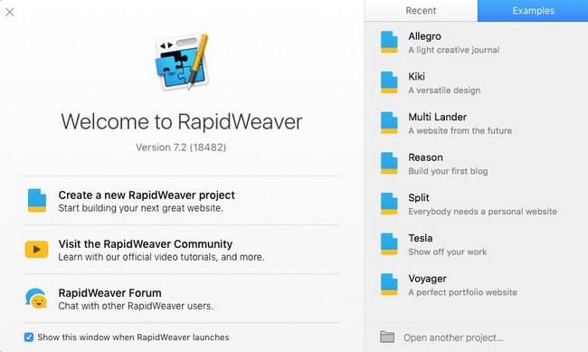 Realmac Rapidweaver v7.2 Build 18482 (Mac OSX)