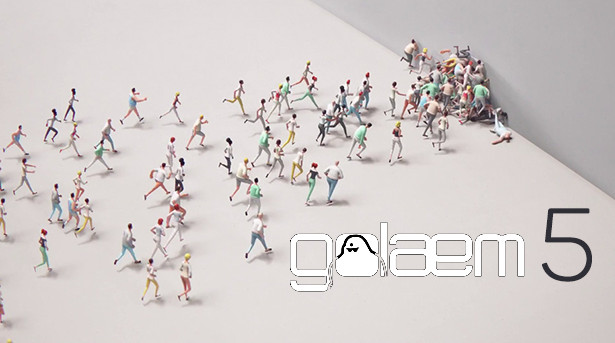 Golaem Crowd v5.3.3 For Maya 2015-2017
