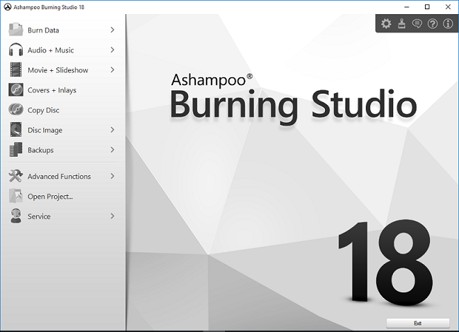 Ashampoo Burning Studio v18.0.1.11 Multilingual (Portable)