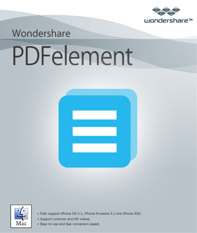 Wondershare Pdfelement With Ocr Plugin v5.7.0 (Mac OSX)