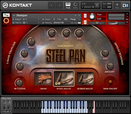 Sonokinetic SteelPan KONTAKT-0TH3Rside