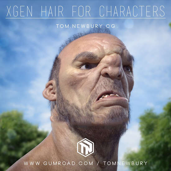 Gumroad - Xgen Hair for Characters