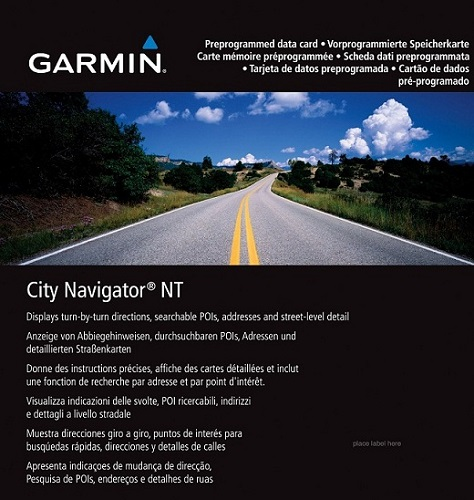 Garmin City Navigator Europe NT Unicode 2017.30