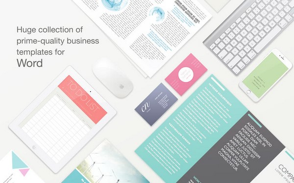 Jumsoft Business Templates For Ms Word v1.0 (Mac OSX)