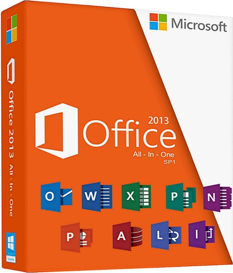 Microsoft Office Professional Plus 2013 Sp1 v15.0.4893.1002 (x86/x64)