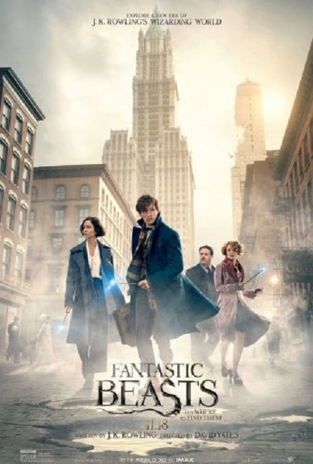 Fantastic Beasts and Where to Find Them (2016) HC 720p HDRip x264 AC3-iFT