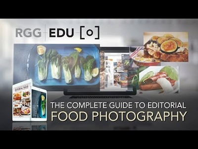 RGG EDU  Editorial Food Photography & Retouching With Rob Grimm