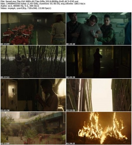 The Girl With All The Gifts (2016) BRRip XviD AC3-EVO