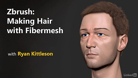 ZBrush: Making Hair with FiberMesh with Ryan Kittleson