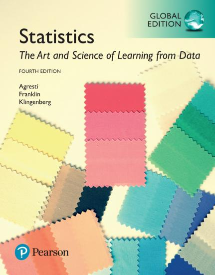 Alan Agresti - Statistics: The Art and Science of Learning from Data, 4th Edition