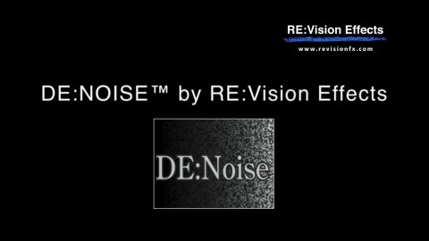RevisionFX DE:Noise for After Effects 3.1.6 (Win/Mac)
