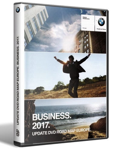 BMW Navigation DVD Road Map Europe BUSINESS 2017 DVD9 MULTiLANGUAGE-NAViGON