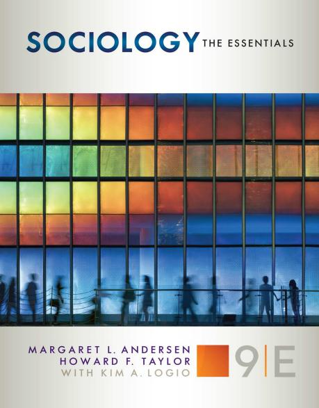 Margaret L. Andersen - Sociology: The Essentials, 9th Edition