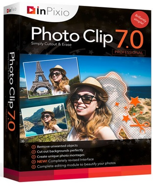 Avanquest InPixio Photo Clip Professional 7.6.0 Multilingual Portable