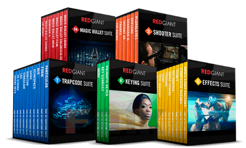 Red Giant Complete Suite 02.2017 for Adobe CS5 - CC 2017